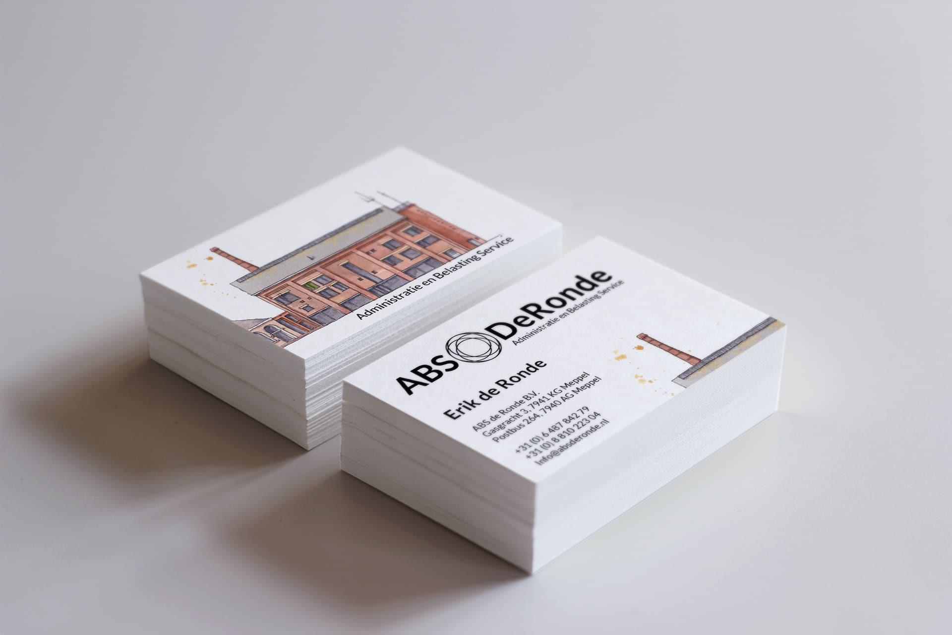 Visitekaartje concept ABS DeRonde