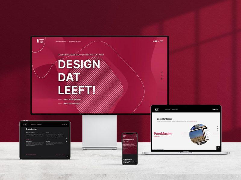 Website Studio oog appel